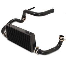 BLACK FRONT MOUNT INTERCOOLER FMIC KIT FOR NISSAN SKYLINE R32 R33 R34 RB25DET