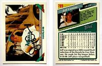 Jeff Conine Signed 1993 Topps #789 Card Florida Marlins Auto Autograph