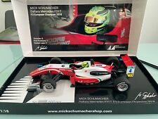 Mick Schumacher Dallara Mercedes F317 limited European Champion in 1:18 MEGARAR