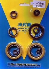 Engine Oil Seal Kit Kawasaki KX500 KX 500 1989 to 2004 Mitaka 104