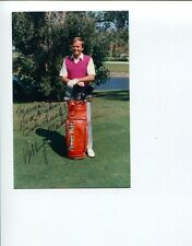 Bobby Nichols 1964 PGA Championship Golf Golfer Champ Signed Autograph Photo