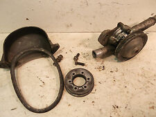 86-87 polaris indy  600 triple water pump belt pulley and belt cover