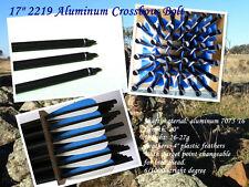 "12 pcs hunting Aluminum crossbow Bolt/arrow 17"" 2219 completed arrow"