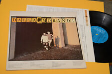 DALLA MORANDI 2LP ORIGINALE 1988 EX GATEFOLD COVER+INNER TESTI