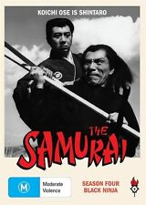 The Samurai - Black Ninja : Season 4 (DVD, 2010, 3-Disc Set)Brand New   Region 4