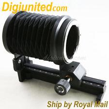 Macro Extension Bellows Tube for Nikon F camera D610 D750 D600 D800 Df D7000 D4X