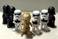 "7pcs Star Wars Mania Mini Figure 1"" BIN"