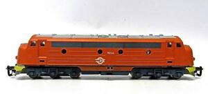 BERLINER BAHN TT Gauge CLASS M61 Diesel Locomotive in Orange Excellent