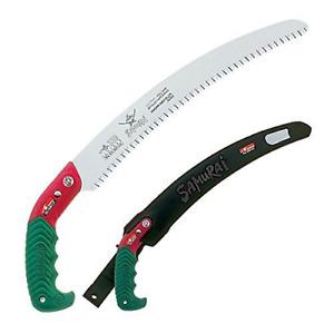 "Samurai Ichiban 13"" Curved Pruning Saw with Scabbard GC-330-LH"