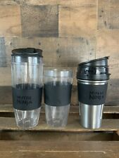 Nutri Ninja Replacement Cups Covers 24oz Stainless 32oz Plastic  BL680A Blender