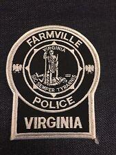 FARMVILLE VIRGINIA POLICE  SHOULDER PATCH