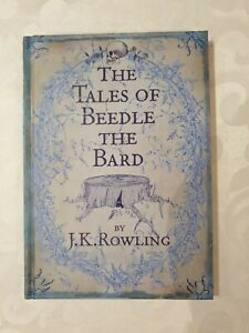 The Tales Of Beedle The Bard 1st/1st Hardback Edition MINT UNREAD CONDITION