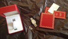 Cartier Mens Panthere de Cartier 18k with Calendar Watch - certifcate included