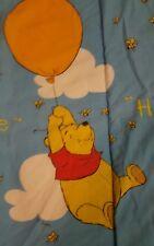 Vintage Disney Winnie the Pooh Baby Blanket Crib Comforter & Plushie GLOBAL