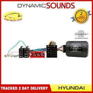 CTSHY001 Contrôle Volant Tige Adaptateur Câble Patch Gratuit pour Hyundai i30