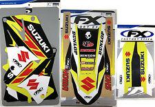 Factory Effex EVO 13 Graphics Trim Fenders Forks Suzuki RM 250 01 02 05 06 07 08
