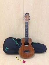 Leaf L100 All-Mahogany Concert Ukulele,Gloss+10mm Padded (G)Gig Bag