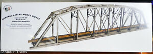 Central Valley HO #1901 (200' Single Track Parker Truss Bridge Kit) Plastic