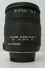 Nikon Sigma 18-50mm f/2.8-4.5 SLD Aspherical DC (OS) Lens (HSM) for Nikon Digita