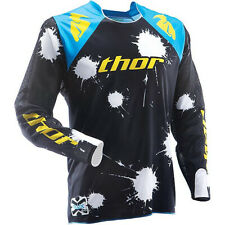 Thor Flux Men's Adult Jersey Seek & Destroy L Off-Road/MX/ATV/Motocross 29101956