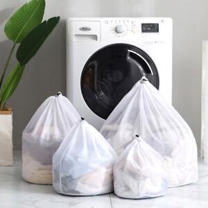 Mesh Laundry Bag Drawstring Bags Underwear Net Bra Socks Washing Machine
