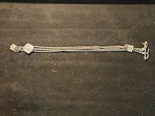 Albertina Watch Chain Antique Ladies Silver
