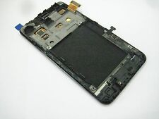 Black ~Full LCD Display+Touch Screen+Frame+key For Samsung Galaxy S2  GT-i9100