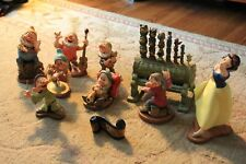 Wdcc Full Set of Snow White and the 7 dwarfs each w/Box and Coa