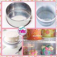 Round Cake Baking Pan Tin on Sale for making Birthday anniversary Wedding cakes