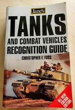 Jane's Tanks and Combat Vehicles Recognition by Christopher F. Foss Paperback