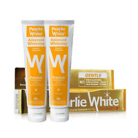 Pearlie White Advanced Whitening Toothpaste 130gm (Bundle of 2)