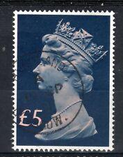 GB = POSTMARK - QE2 era, `GLASGOW` 1991 Single Ring. £5 Tall Machin.