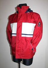 Mens Junior Gaastra Keywest Sailing Red Jacket Hooded coat Nylon Size M Medium