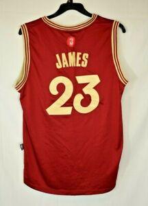 "Adidas - Cleveland Cavaliers #23 Lebron James Jersey - Size: Large +2"""