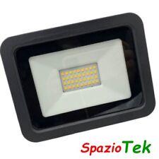 Faretto PROIETTORE LED 30W 220V 20Watt LUCE FARO interno esterno STAGNA IP65