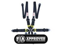 "STR 6-Point 3/"" Strap Press Button Harness Belt FIA /& IVA Approved 2022 NEW STYLE"