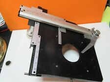 Nikon Japan Stage Table X Y Microscope Part As Pictured Ft 5 05