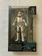 "Star Wars Black Series 6"" CLONE COMMANDER CODY #14 - MIP 100% Complete"