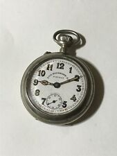 Vintage Swiss Made Louis Roskopf S.A. Pocketwatch. Working! Art Deco Style