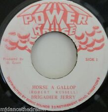 "BRIGADIER JERRY - Horse A Gallop - 7"" Single JA PRESS"