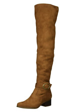 Naturalizer Women's Dalyn Brandy Tall Over-The-Knee Fashion Slouch Boots 8.5 NEW