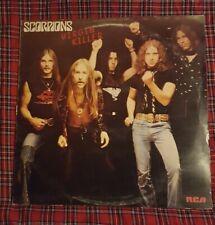 Virgin Killer LP by Scorpions vinyl 1977 UK import RCA Records PPL 4225 VG+