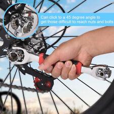 360°Tiger Wrench Spanner 48 in 1 Socket w/Spline Bolts Car Repair Universal Tool