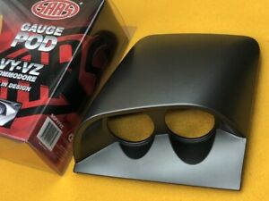 "Twin 2"" gauge dash top pod for Holden VY VZ COMMODORE 02-07 Grey SAAS SGPVYVZ"