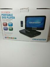 """10.5"""" Portable Car DVD Player With Large Swivel Screen Rechargeable Battery New"""
