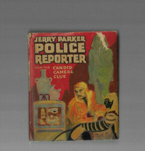VINTAGE BETTER LITTLE BOOK JERRY PARKER Candid Camera Clue 1941 Whitman Co