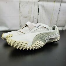 Rare! Puma Mostro White Size 13 ☆ Driving Racing Leather Shoes 100% Authentic UR