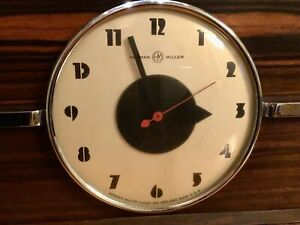 Collectible Gilbert Rohde's Machine Age Vintage Art Deco Table Or Mantle Clock