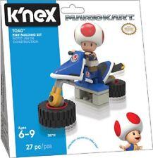 K'NEX KNEX Nintendo Mario Kart Toad Bike Building Set Kit Toy (38719) 27 pieces