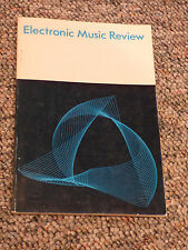 Electronic Music Review - #1 Jan 1967 -Moog - Stockhausen etc - first press